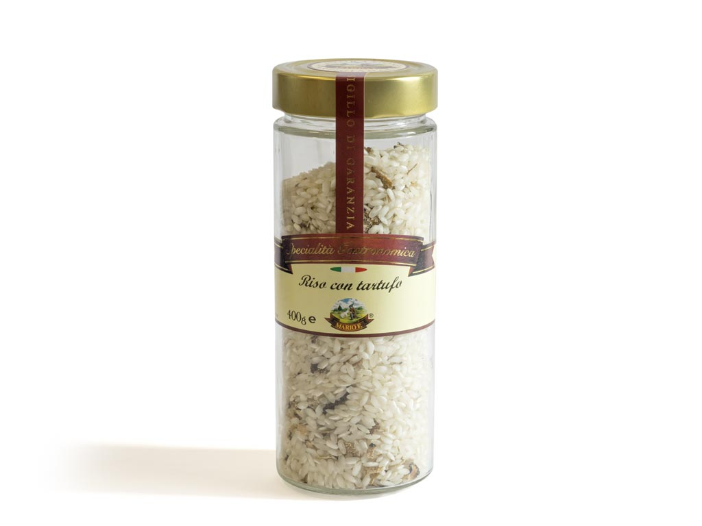 Rice with truffle