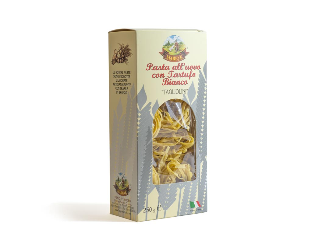 Tagliolini with white truffle