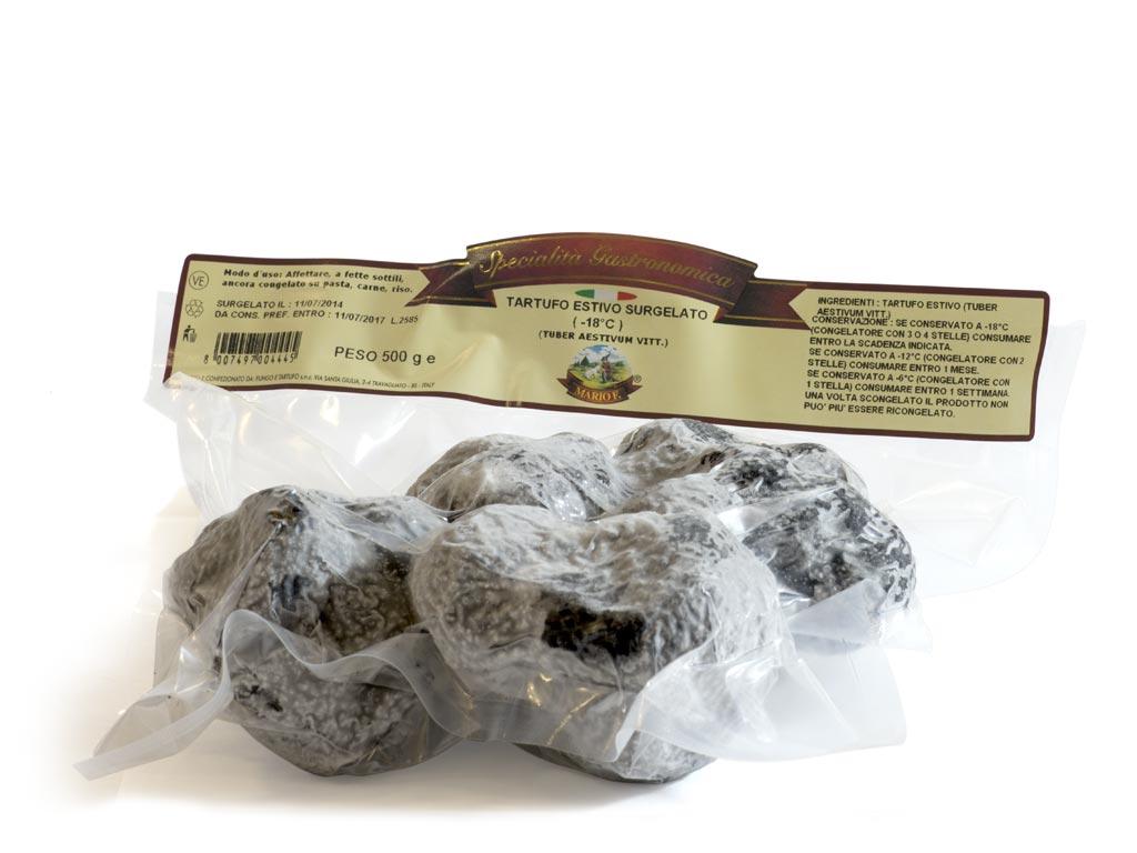 Deep frozen truffle