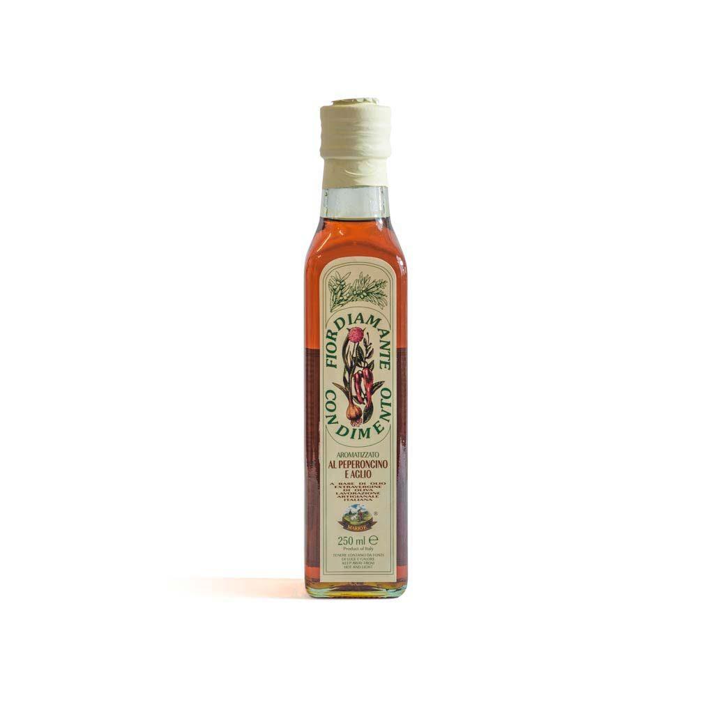 Olio al peperoncino e aglio